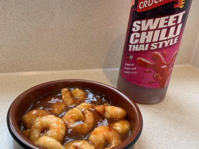 Sweet Chilli Prawns